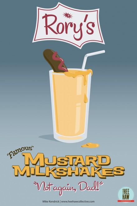 Rory's Mustard Milkshakes