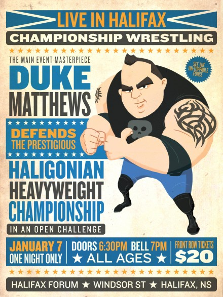 Duke Matthews: Character design