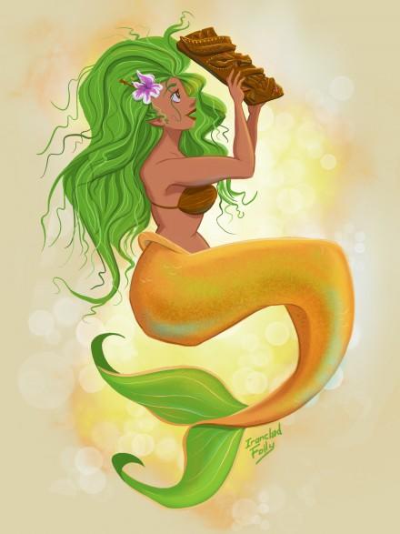 Tiki Mermaids