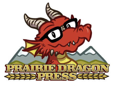 Prairie Dragon Press logo design